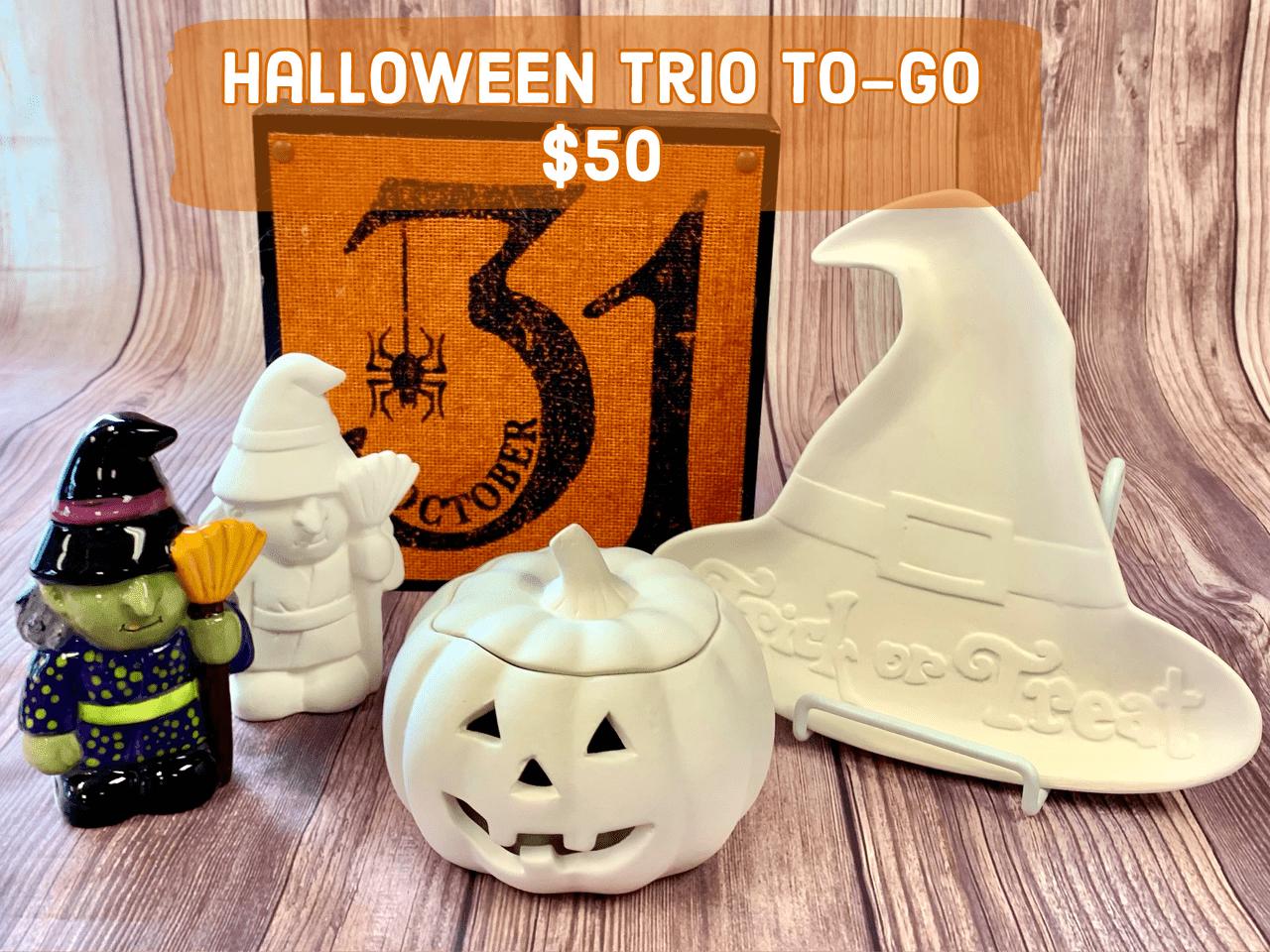 Halloween Trio To-Go $50